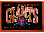 SAN FRANCISCO GIANTS MLB EMBROIDERED PATCH #03