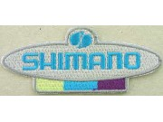 SHIMANO FISHING & CYCLING EMBROIDERED PATCH #03