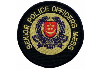 SINGAPORE POLICE OFFICERS MESS PATCH