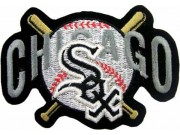 MLB CHICAGOO WHITE SOX BASEBALL EMBROIDERED PATCH #12