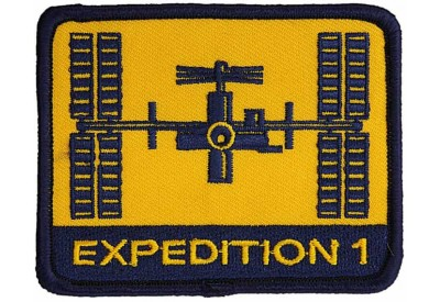 INTERNATIONAL SPACE STATION EXPEDITION 01 PATCH