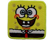 SPONGEBOB SQUAREPANTS CARTOON COMIC EMBROIDERED PATCH #01