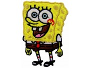 SPONGEBOB SQUAREPANTS CARTOON COMIC EMBROIDERED PATCH #02