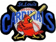 MLB ST. LOIUS CARDINALS BASEBALL EMBROIDERED PATCH #01