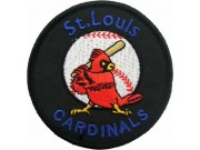MLB ST. LOIUS CARDINALS BASEBALL EMBROIDERED PATCH #02
