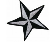 STAR NAUTICAL STAR EMBROIDERED PATCH #02