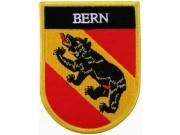SWITZERLAND SWISS BERN SHIELD FLAG PATCH (SB)