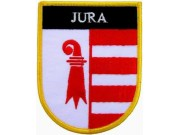 SWITZERLAND JURA SHIELD FLAG PATCH (SB)