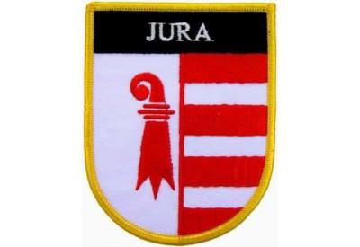 SWITZERLAND JURA SHIELD FLAG PATCH (SB)