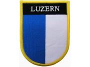SWITZERLAND LUZERN SHIELD FLAG PATCH (SB)