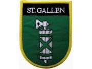 SWITZERLAND ST.GALLEN SHIELD FLAG PATCH (SB)