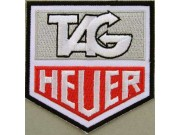 TAG HEUER F1 RACING EMBROIDERED PATCH #02