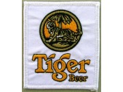 TIGER BEER EMBROIDERED PATCH #01