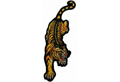 GIANT TIGER EMBROIDERY PATCH (XL)
