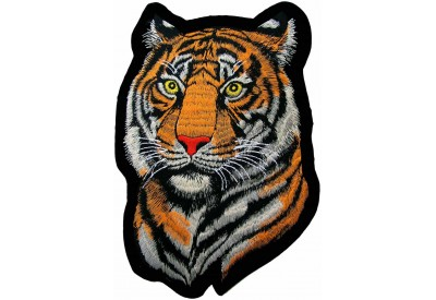 GIANT TIGER EMBROIDERED PATCH (XL6)