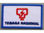 TNB - MALAYSIA POWER STATION IRON ON EMBROIDERED PATCH