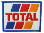 TOTAL MOTOR GP BIKER EMBrOIDERED PATCH #01