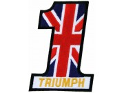 TRIUMPH BIKER MOTORCYCLE EMBROIDERED PATCH #01