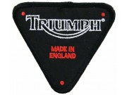 TRIUMPH BIKER MOTORCYCLE EMBROIDERED PATCH #05