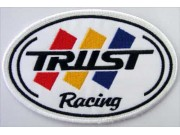 TRUST RACING IRON ON EMBROIDERED PATCH
