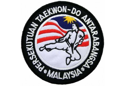 TAEKWONDO MARTIAL ARTS EMBOIDERED PATCH #09