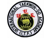 TAEKWONDO MARTIAL ARTS EMBOIDERED PATCH #05