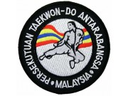 TAEKWONDO MARTIAL ARTS EMBOIDERED PATCH #10