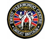 TAEKWONDO MARTIAL ARTS EMBOIDERED PATCH #08
