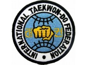 TAEKWONDO MARTIAL ARTS EMBOIDERED PATCH #07