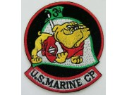 USMC 3rd US MARINE CORP EMBROIDERED PATCH #5a