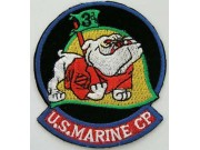USMC 3rd US MARINE CORP EMBROIDERED PATCH #5c