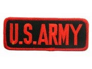 US AMRY UNIFORM TAG EMBROIDERED PATCH #03