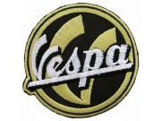 VESPA SCOOTER MOTORCYCLE EMBROIDERED PATCH #01