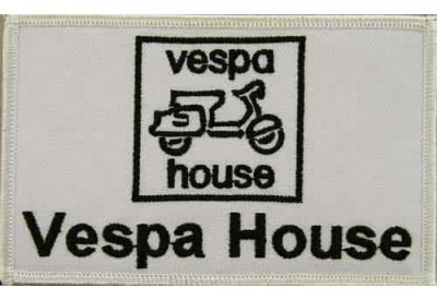 VESPA SCOOTER MOTORCYCLE EMBROIDERED PATCH #05