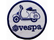 VESPA SCOOTER MOTORCYCLE EMBROIDERED PATCH #16