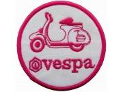 VESPA SCOOTER MOTORCYCLE EMBROIDERED PATCH #17