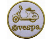VESPA SCOOTER MOTORCYCLE EMBROIDERED PATCH #18