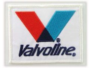 VALVOLINE RACING OIL EMBROIDERED PATCH #01