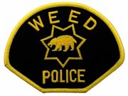 CALIFORNIA WEED POLICE PATCH