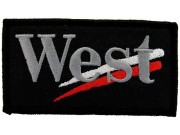 WEST MCLAREN MERCEDES RACING EMBROIDERED PATCH #12