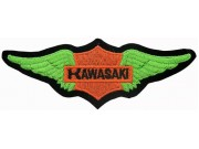 KAWASAKI BIKER MOTORCYCLE EMBROIDERED PATCH #25
