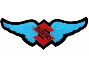 GIANT SUZUKI BIKER WINGS PATCH (K)