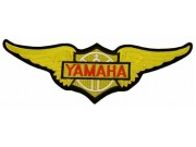 GIANT YAMAHA BIKER WINGS EMBROIDERED PATCH (K1)