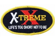 X-TREME RACING SPORT EMBROIDERED PATCH