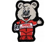 Yamaha Motorcycle Bear Embroidered Patch #01