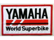 YAMAHA BIKER MOTORCYCLE EMBROIDERED PATCH #32