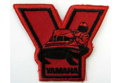 YAMAHA BIKER MOTORCYCLE EMBROIDERED PATCH #16