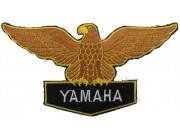 YAMAHA BIKER MOTORCYCLE EMBROIDERED PATCH #37