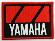 YAMAHA BIKER MOTORCYCLE EMBROIDERED PATCH #30