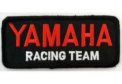 YAMAHA BIKER MOTORCYCLE EMBROIDERED PATCH #24